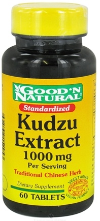 DROPPED: Good 'N Natural - Kudzu Extract 1000 mg. - 60 Tablets