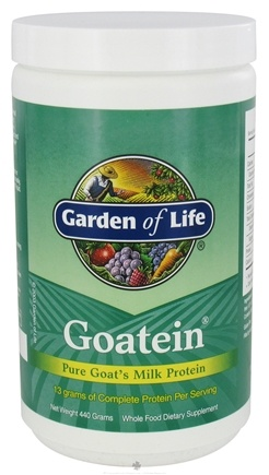 Buy Garden Of Life Goatein Pure Goat 39 S Milk Protein Powder 454 Grams At