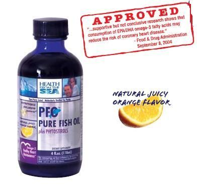 DROPPED: Health From The Sun - PFO Pure Fish Oil plus Phytosterols - 4 oz.