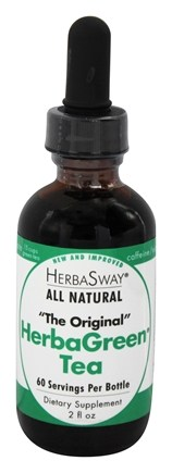 HerbaSway - HerbaGreen Tea All Natural Original Flavor - 2 oz.