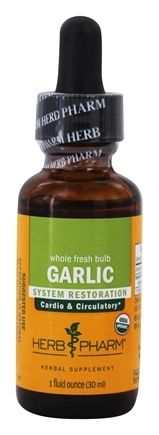 DROPPED: Herb Pharm - Garlic Extract - 1 oz. CLEARANCE PRICED