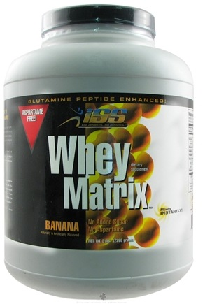 DROPPED: ISS Research - Whey Matrix Banana - 5 lbs. CLEARANCE PRICED