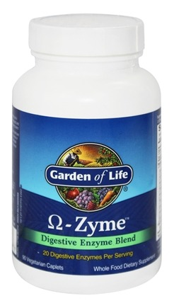 DROPPED: Garden of Life - Omega Zyme Digestive Enzyme Blend - 90 Caplets