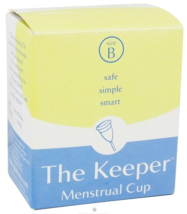 DROPPED: Glad Rags - The Keeper Menstrual Cup Size B - CLEARANCE PRICED