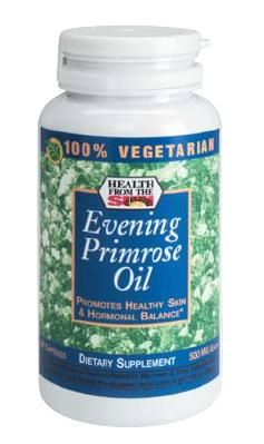 DROPPED: Health From The Sun - 100% Vegetarian Evening Primrose Oil - 90 Capsules