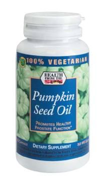 DROPPED: Health From The Sun - 100% Vegetarian Pumpkin Seed Oil - 90 Capsules