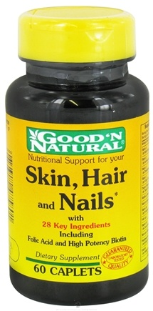 DROPPED: Good 'N Natural - Skin, Hair & Nails - 60 Caplets