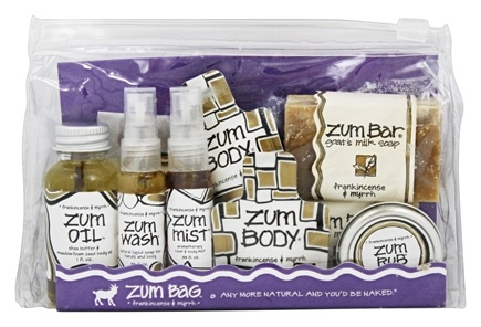 Zoom View - Zum Bag Frankincense & Myrrh Gift Set