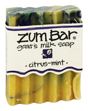 DROPPED: Indigo Wild - Zum Bar Goat's Milk Soap Citrus-Mint - 3 oz.