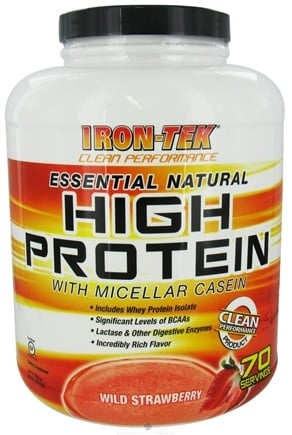 Zoom View - Essential Natural High Protein with Micellar Casein