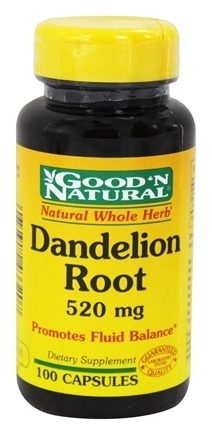 DROPPED: Good 'N Natural - Dandelion Root 520 mg. - 100 Capsules