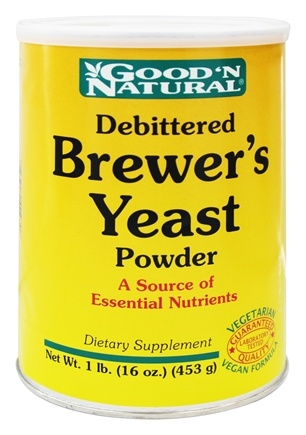 DROPPED: Good 'N Natural - Brewer's Yeast Powder - 16 oz.
