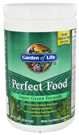 Zoom View - Perfect Food Super Green Formula Powder