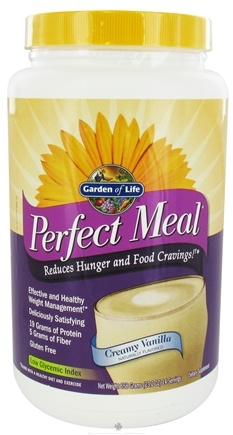 DROPPED: Garden of Life - Perfect Meal Powder Creamy Vanilla - 658 Grams