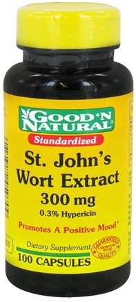 DROPPED: Good 'N Natural - Saint John's Wort 300 mg. - 100 Capsules