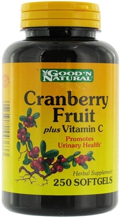 DROPPED: Good 'N Natural - Super Cranberry Fruit plus Vitamin C - 250 Softgels