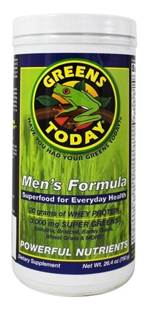 Greens Today - Men's Formula - 26.4 oz.