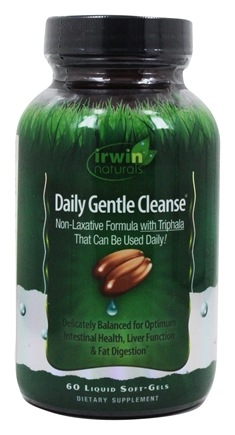 Irwin Naturals - Daily Gentle Cleanse - 60 Softgels