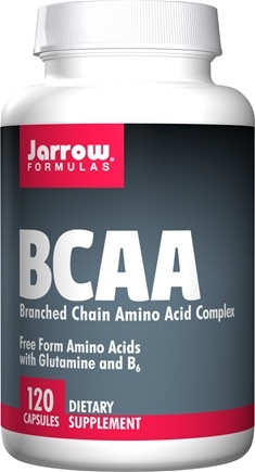 Jarrow Formulas - Branched Chain Amino Acids (BCAA) Complex - 120 Capsules