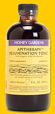 DROPPED: Honey Gardens Apiaries - Apitherapy Rejuvenation Tonic - 8 oz.