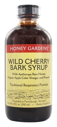 Zoom View - Honey Wild Cherry Bark Syrup