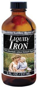 DROPPED: Innovative Natural - Iron Liquid - 4 oz.