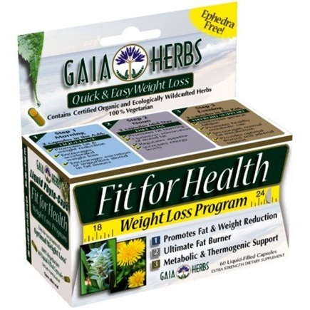 DROPPED: Gaia Herbs - Fit For Health Diet Formula - 60 Capsules