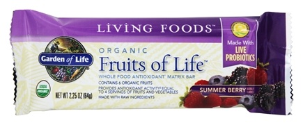 Zoom View - Fruits of Life Antioxidant Matrix Bar
