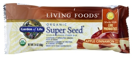 Zoom View - Super Seed Fiber Bar