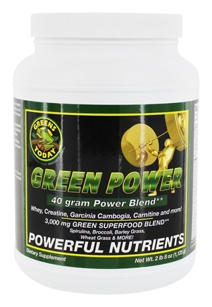Greens Today - Green Power - 2.8 lbs. (formerly Powerhouse Formula)