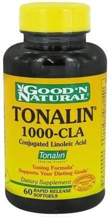 DROPPED: Good 'N Natural - Tonalin 1000-CLA - 60 Softgels