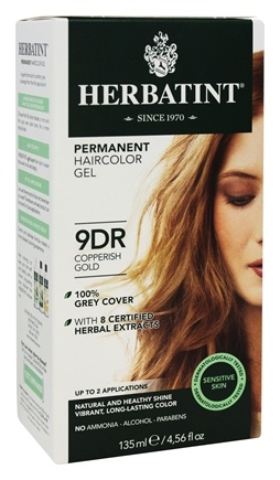 Zoom View - Herbal Haircolor Permanent Gel 9DR