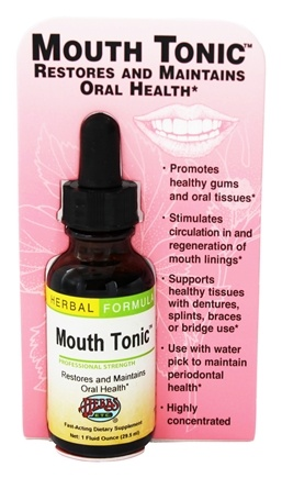 Zoom View - Mouth Tonic Professional Strength