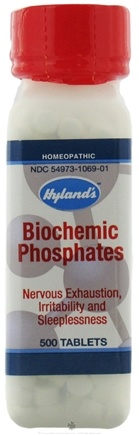 DROPPED: Hylands - Biochemic Phosphates - 500 Tablets Formerly Cell Salts Biochemic Phosphoricum CLEARANCE PRICED