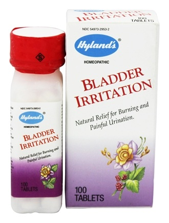 DROPPED: Hylands - Bladder Irritation - 100 Tablets