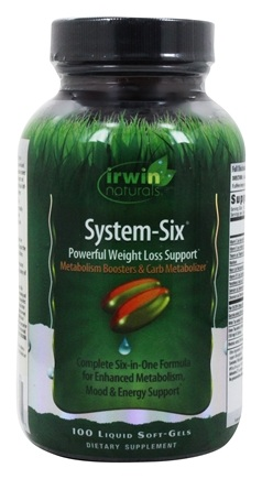 Zoom View - System Six Weight Loss Support with Garcinia Cambogia