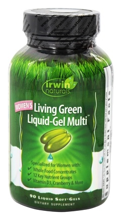 Zoom View - Women's Living Green Liquid-Gel Multi