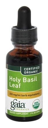 Zoom View - Holy Basil Leaf Certified Organic