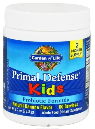 Buy Garden of Life Primal Defense Kids Powder Probiotic Formula