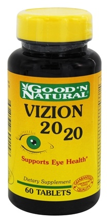 DROPPED: Good 'N Natural - Vizion 20/20 - 60 Tablets
