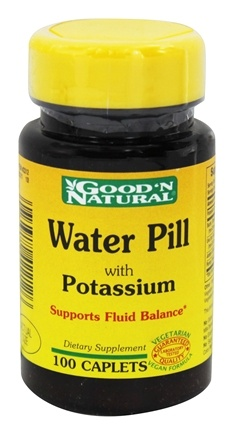 DROPPED: Good 'N Natural - Water Pill Natural Diuretic - 100 Caplets