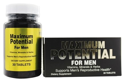 DROPPED: Good 'N Natural - Maximum Potential For Men - 30 Tablets