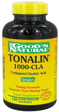 DROPPED: Good 'N Natural - Tonalin 1000-CLA - 120 Softgels