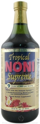 DROPPED: Herbal Authority - Tropical Noni Supreme - 33.8 oz. Formerly called Good 'N Natural