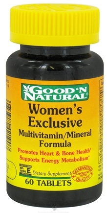 DROPPED: Good 'N Natural - Women's Exclusive Formula - 60 Tablets