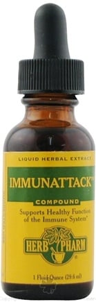 DROPPED: Herb Pharm - Immunattack Compound - 1 oz. CLEARANCE PRICED