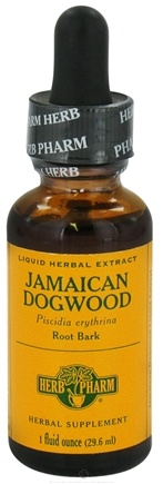 DROPPED: Herb Pharm - Jamaican Dogwood Extract - 1 oz. CLEARANCE PRICED