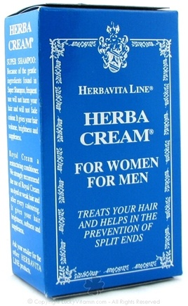 DROPPED: Herbatint - Herbavita Herba Cream For Women & Men - 3.4 oz.