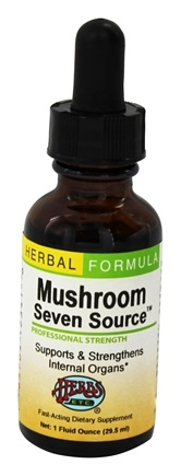 DROPPED: Herbs Etc - Mushroom Seven Source Professional Strength - 1 oz.
