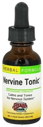 DROPPED: Herbs Etc - Nervine Tonic Professional Strength - 1 oz. CLEARANCE PRICED